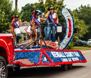 Kendall County Fair Assoc first place float