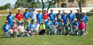 comfort baseball camp group shot 2